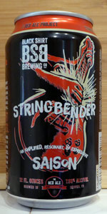 Stringbender Saison: Dry Hopped And Fouder Aged