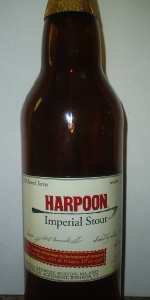 Harpoon 100 Barrel Series #12 - Imperial Stout