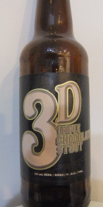 3 D Triple Chocolate Stout