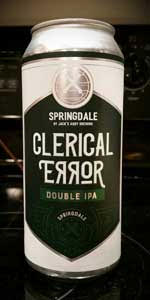 Springdale Clerical Error
