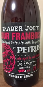Trader Joe's Sour Framboise By Petrus