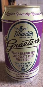 Graeter's Black Raspberry Chocolate Chip Milk Stout