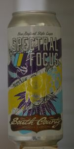 Spectral Focus New England Style Lager