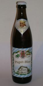Weideneder Papst-Bier