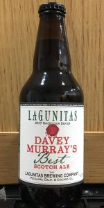 Davey Murray's Best Scotch Ale
