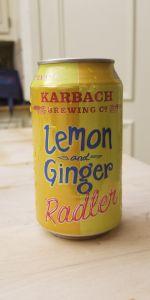 Lemon Ginger Radler
