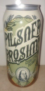 Pilsner Prosim Czech Style Pilsner