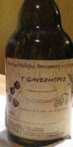 't Gaverhopke De Kriek (Red Cap)