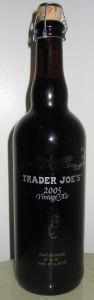 Trader Joe's 2005 Vintage Ale