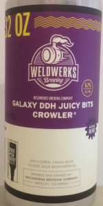 Juicy Bits - Double Dry-Hopped With Galaxy