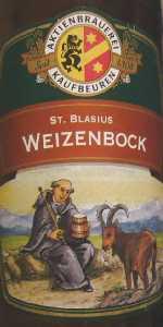 St. Blasius Weizenbock