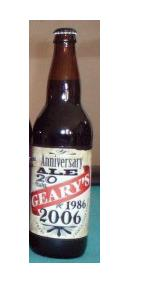 Geary's 20th Anniversary  Wee Heavy