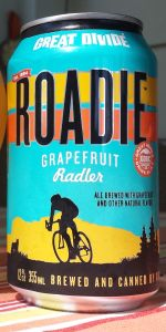 Roadie Grapefruit Radler