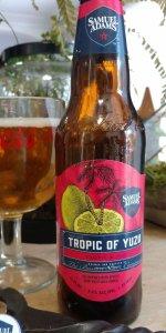 Samuel Adams Tropic of Yuzu