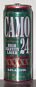 Camo High Gravity Lager