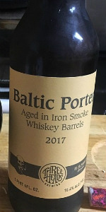 Iron Smoke Barrel Aged Baltic Porter