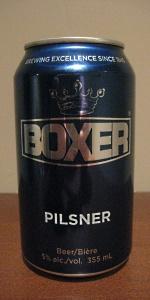Boxer Pilsner