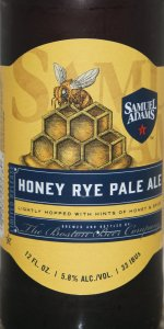 Samuel Adams Honey Rye Pale Ale