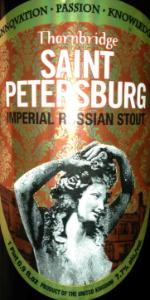 Saint Petersburg Imperial Stout