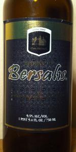 Oud Beersel Bersalis Tripel