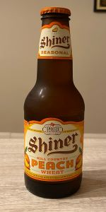 Shiner Hill Country Peach Wheat (Brewer's Pride Craft Brew No. 11)
