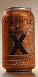 X - Orange