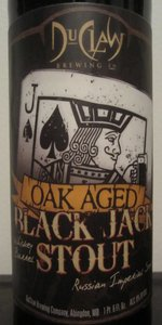 Oak Aged Black Jack Stout