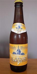 Biere D'Abbaye Malonne Blonde