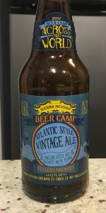 Beer Camp Across The World: Atlantic-Style Vintage Ale