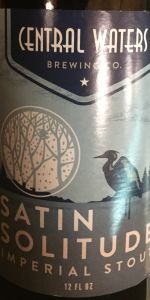 Satin Solitude Imperial Stout