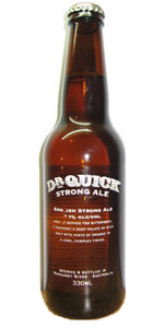 Dr Quick Strong Ale