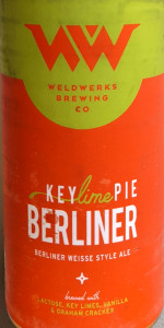 Key Lime Pie Berliner