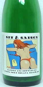 SPF 8 Belgium Farmhouse Ale