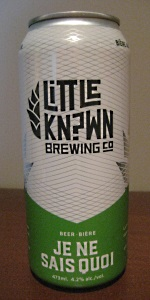 Flying Monkeys / Little Known Brewery Je Ne Sais Quoi