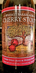 Whiskey Barrel Aged Cherry Stout