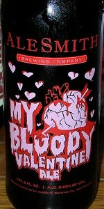AleSmith My Bloody Valentine
