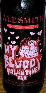 AleSmith My Bloody Valentine