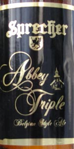 Mellow Aged Brewmaster Reserve Abbey Triple