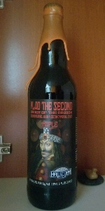 Vlad The Second Order Of The Dragon Bourbon Barrel Aged Stout With Maple