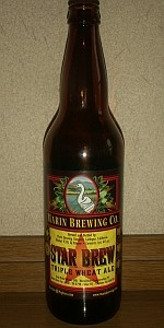 Marin Star Brew-Triple Wheat Ale