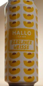 Hallo Ich Bin Berliner Weisse - Apricot
