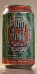 Bump 'N' Rind Watermelon Kölsch