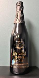 Private Stock Ale - Barrel-Aged