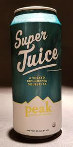 Peak Organic Super Juice