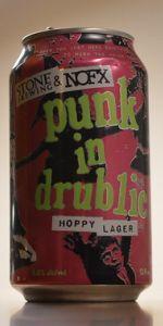 Stone & NOFX Punk In Drublic Hoppy Lager