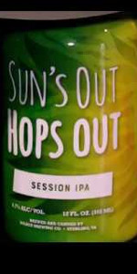 Suns Out Hops Out