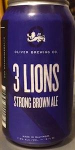 Oliver's 3 Lions Ale
