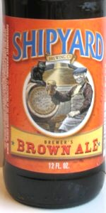 Shipyard Brewer's Brown Ale
