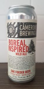 Boreal Inspired Wild Ale