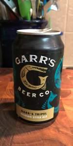 Garr's Tripel